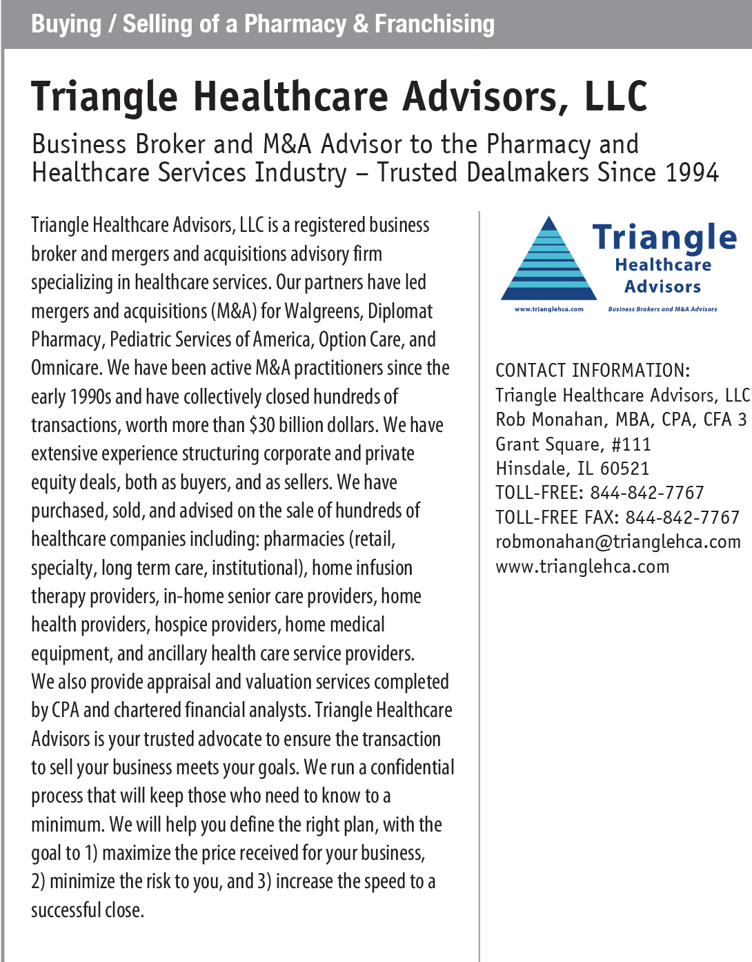 PROFILE_Buying-_-Selling-of-a-Pharmacy-_-Franchising---Triangle-Healthcare-Advisors,-LLC.jpg
