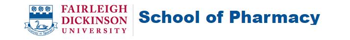 Fairleigh Dickinson University School of Pharmacy