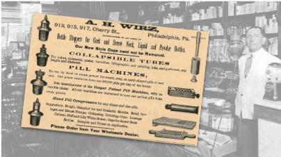 A.H. Wirz Vintage Pharmacy Ad