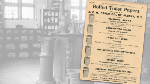 A.P.W Paper Co., Rolled Toilet Papers Ad