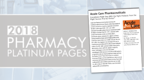 Acute Care Pharma Profile