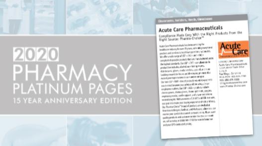 Acute Care Pharmaceuticals