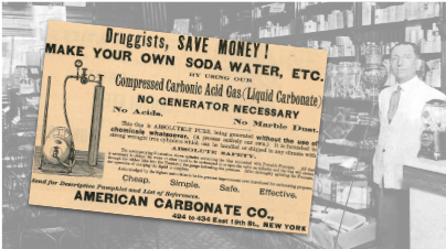 American Carbonate Co. Vintage Ad