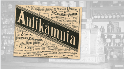 Antikamnia Vintage Pharmacy Ad