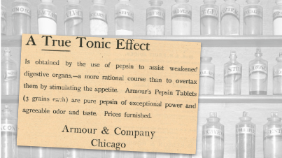 Armour & Company True Tonic Vintage Ad