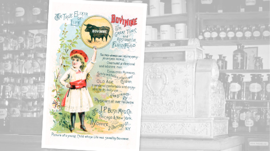 Bovinine Tonic Vintage Pharmacy Ad