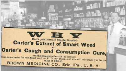 Brown Medicine Co., Vintage Ad