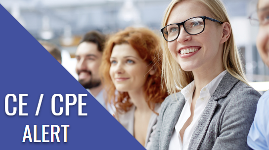 Pharmacy CE Alert / Pharmacy CPE | Continuing Education for Pharmacists and Pharmacy Technicians. ACPE Accredited