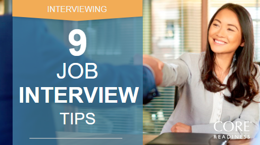 COREreadiness Job Interview Tips
