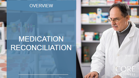 COREreadiness Medication Reconciliation