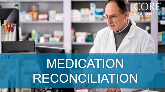 COREreadiness Medication Reconciliation