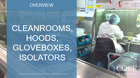 Cleanrooms, Hoods, Isolators
