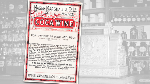 Coca Wine Vintage Pharmacy Ad