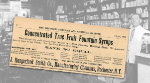 Concentrated True Fruit Fountain Syrup Ad