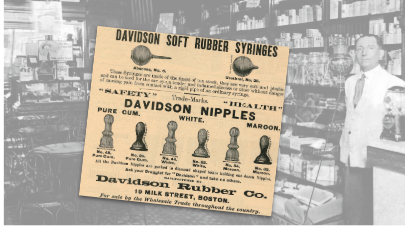 Davidson Rubber Co Vintage Ad