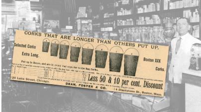 Dean, Foster & Co. Cork Vintage Ad