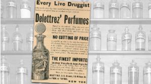 Delettrez' Vintage Perfume Ad