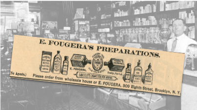 E. Fougera's Preparations Vintage Ad