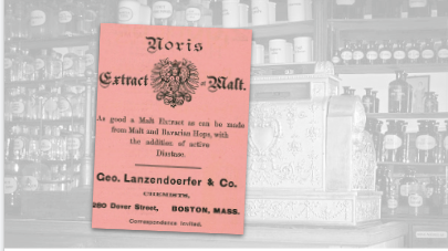 Extract of Malt Vintage Pharmacy Ad