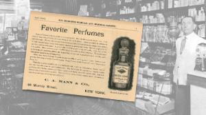 Favorite Perfumes Vintage Ad