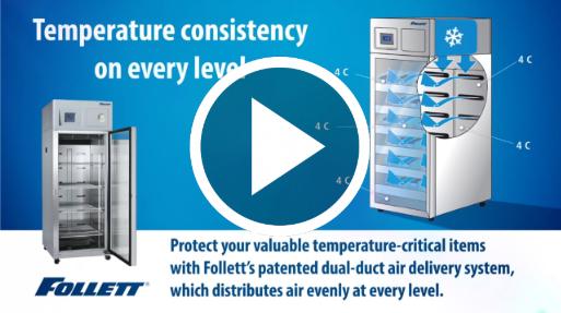 Follett (Case Study) Upright Medical-Grade Refrigerators Video