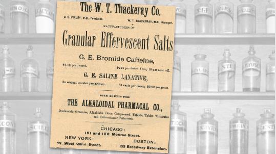 Granular Effervescent Salts Vintage Ad