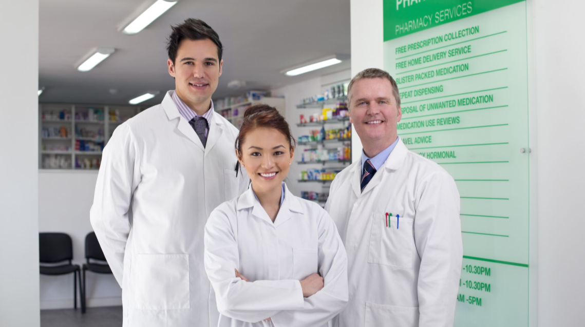 Group of Pharmacists