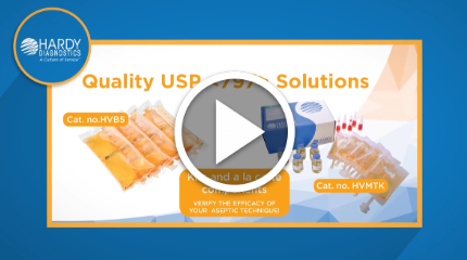 Hardy Diagnostics USP 797 Video