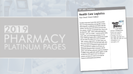 Health Care Logistics USP 800 Profile
