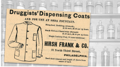 Hirsh Frank & Co. Druggists' Dispensing CoatsHirsh Frank & Co. Druggists' Dispensing Coats