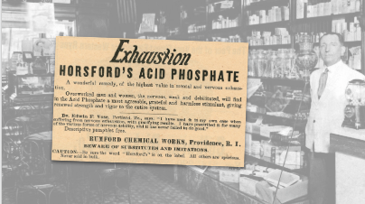 Horsford's Acid Phosphate Vintage Ad