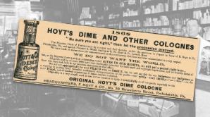 Hoyt's Cologne Vintage Ad