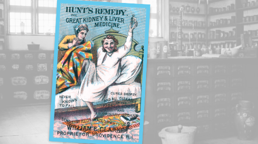 Hunt's Remedy Historic Pharmacy Ad