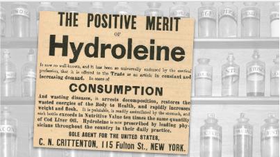Hydroleine Vintage Ad