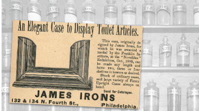 James Irons Vintage Ad