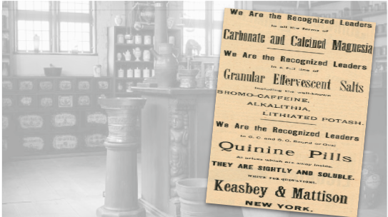 Keasbey & Mattison Vintage Ad