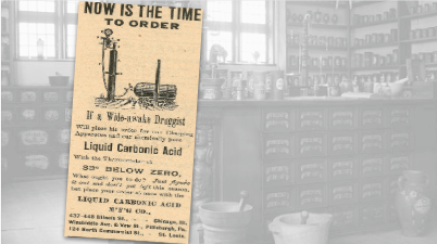 Liquid Carbonic Acid Vintage Ad