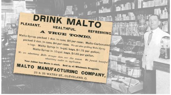 Malto Tonic Vintage Ad