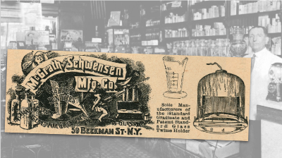 McGrath & Schwensen Glass Ware Vintage Ad