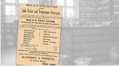 McKesson & Robbins Soda Water Vintage Ad