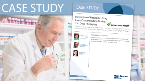 Medi-Dose (Case Study) Cross contamination