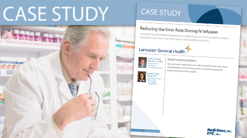 Medi-Dose (Case Study) Reducing Error Rate