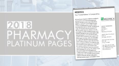 Medisca Compounding Profile