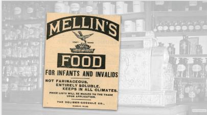 Mellin's Food Vintage Ad