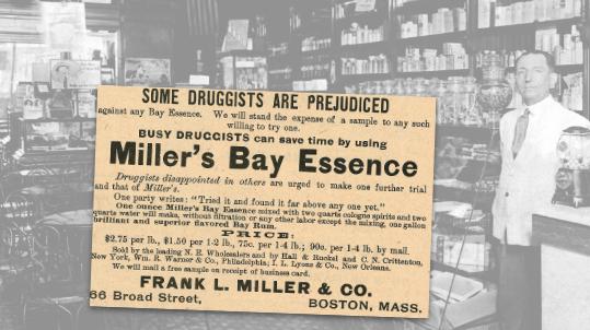 Miller's Bay Essence Vintage Ad