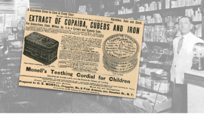 Monell's Extract of Copaiba Vintage Ad