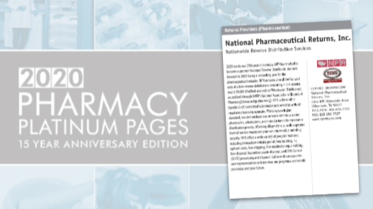 National Pharmaceutical Returns