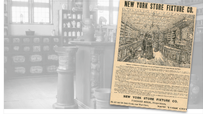 New York Store Fixture Co., Vintage Ad