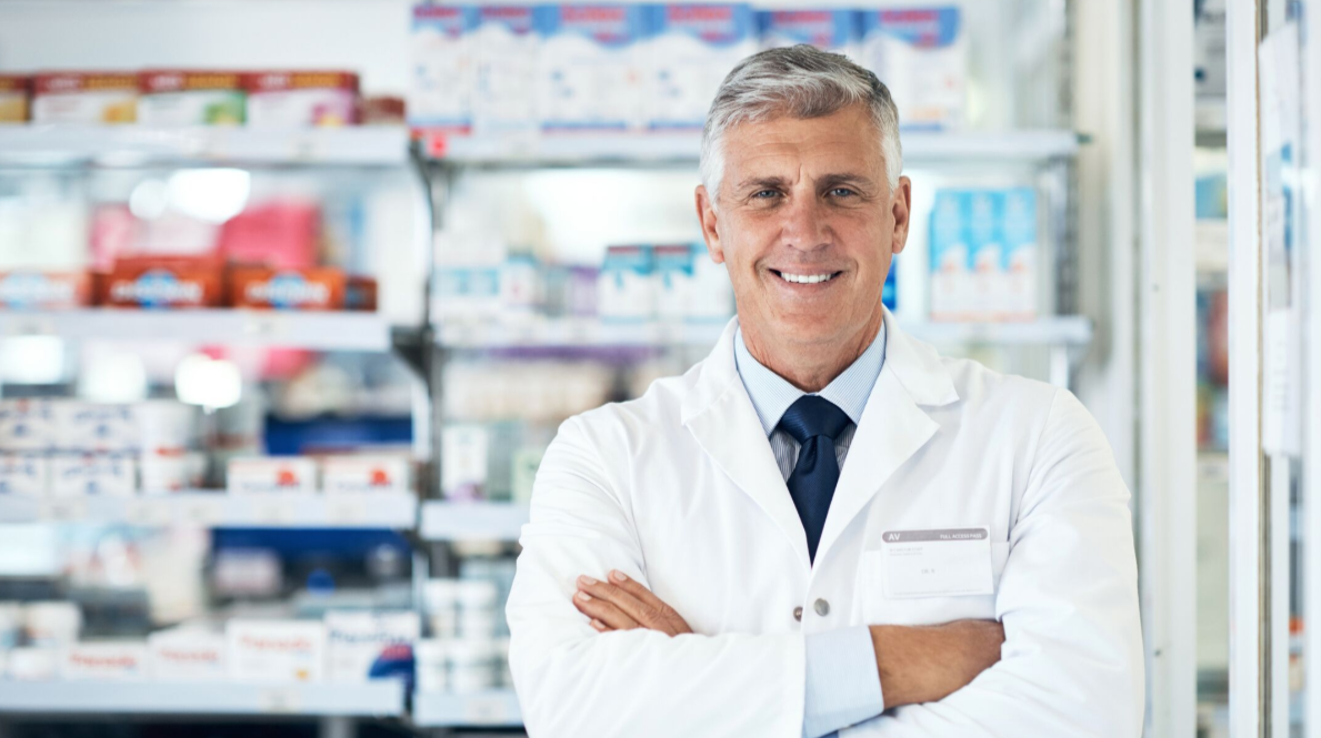 Older Male Pharmacist