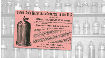Oldest Soda Water Manufacturers Vintage Ad